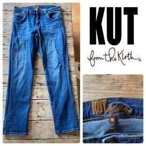 KUT From The KLOTH Straight Jeans Medium Wash